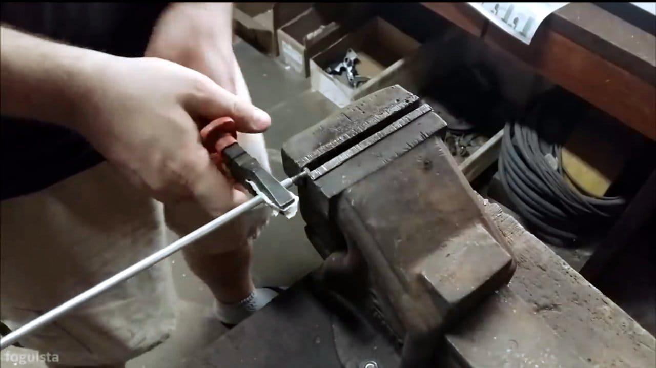 Делаем простую походную печь
