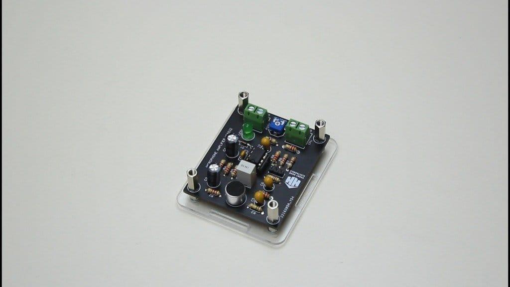 Микрофонный усилитель на микросхеме NE5532