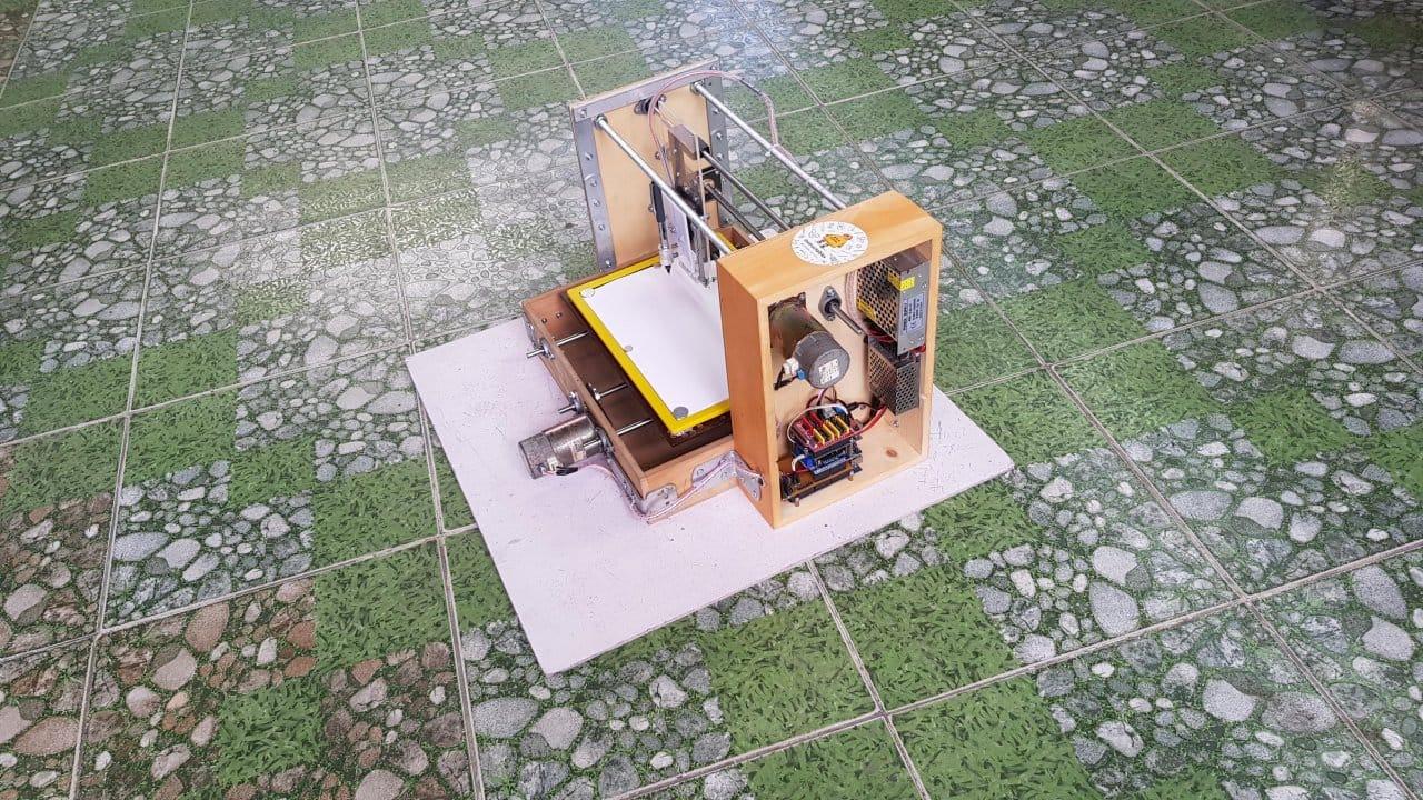 Самодельный станок с ЧПУ