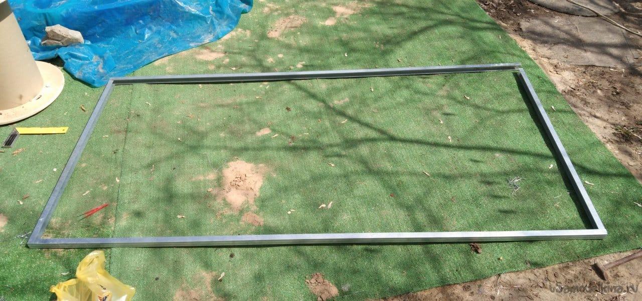 Металлические грядки - удобное решение для приусадебного участка