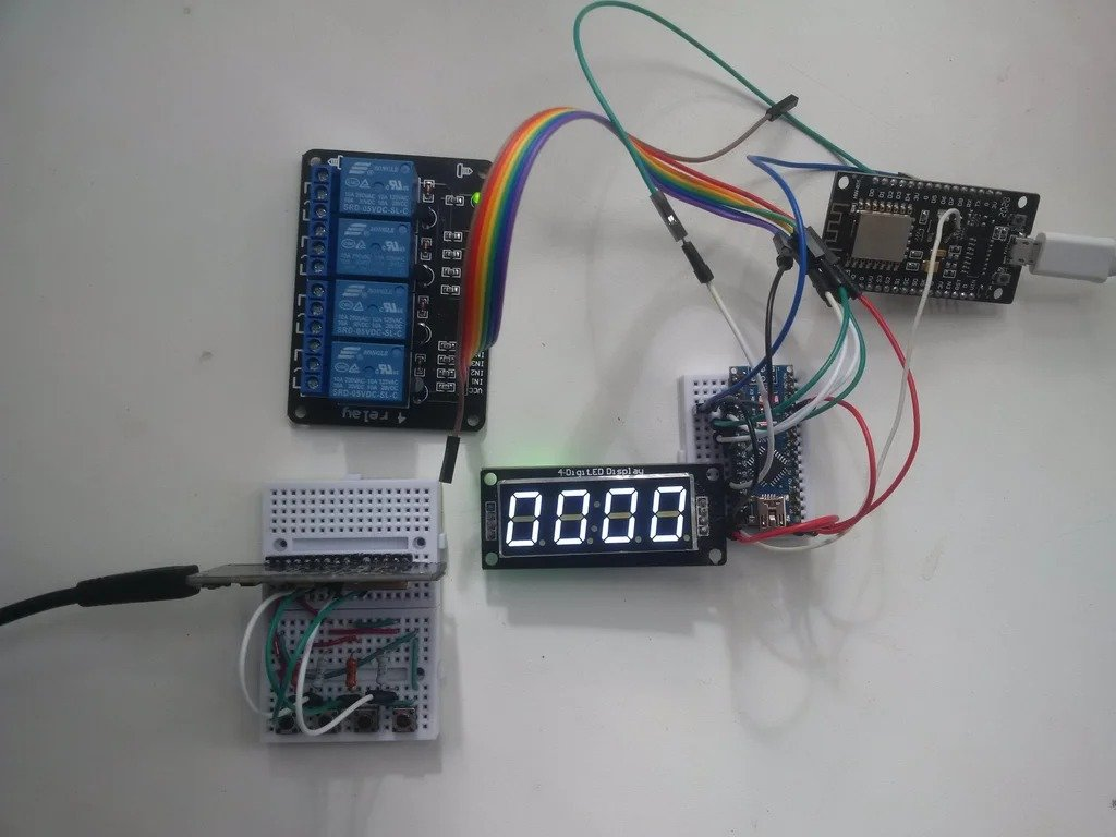 Безопасный 4-канальный беспроводной коммутатор для умного дома