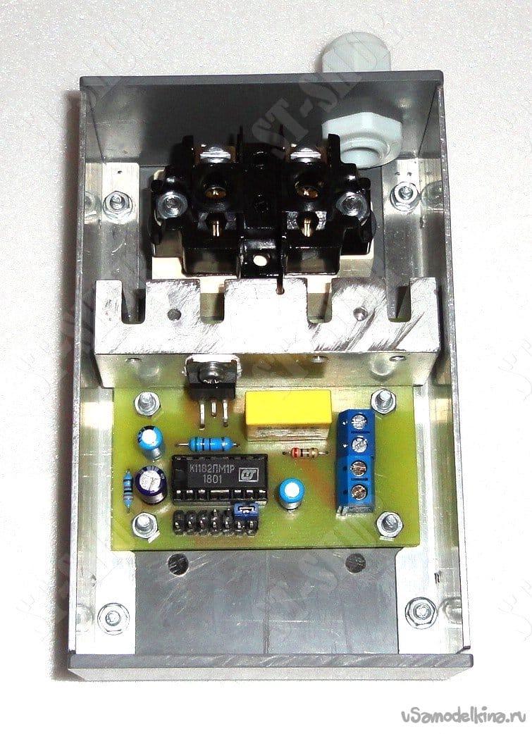 Регулятор оборотов для электроинструмента с функцией плавного пуска