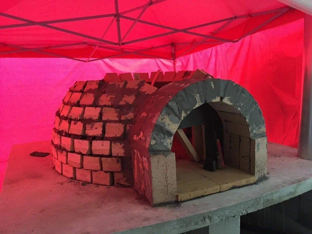 Уличная печь для пиццы