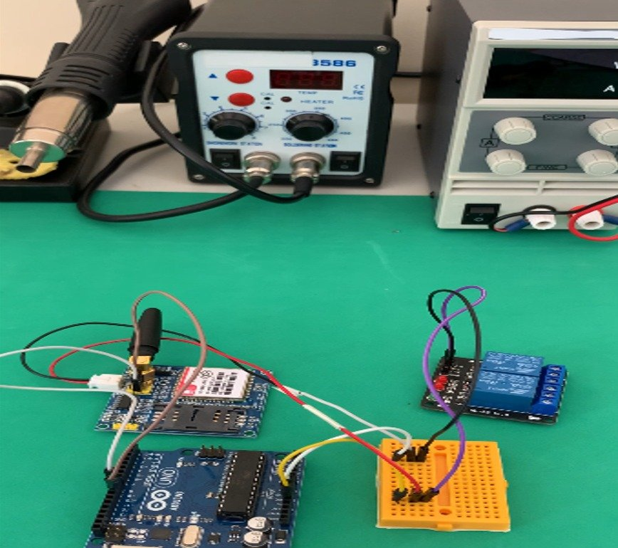 Управления релейным модулем через SMS с помощью Arduino