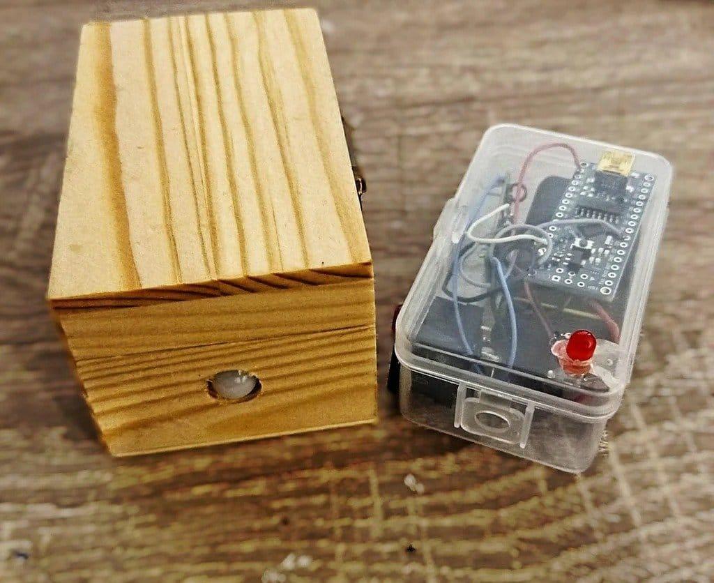 Беспроводная система сигнализации с датчиком движения