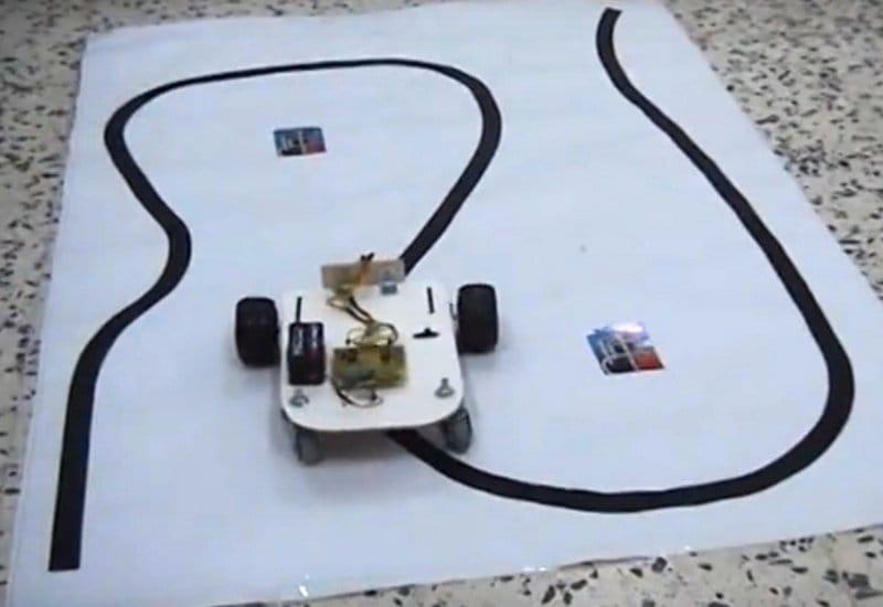Робот, ездящий по линии