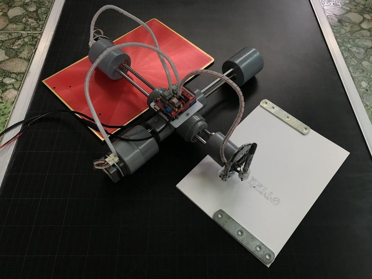 ЧПУ-плоттер из легкодоступных материалов