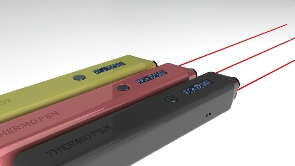 Термометр для измерения температуры электронных плат