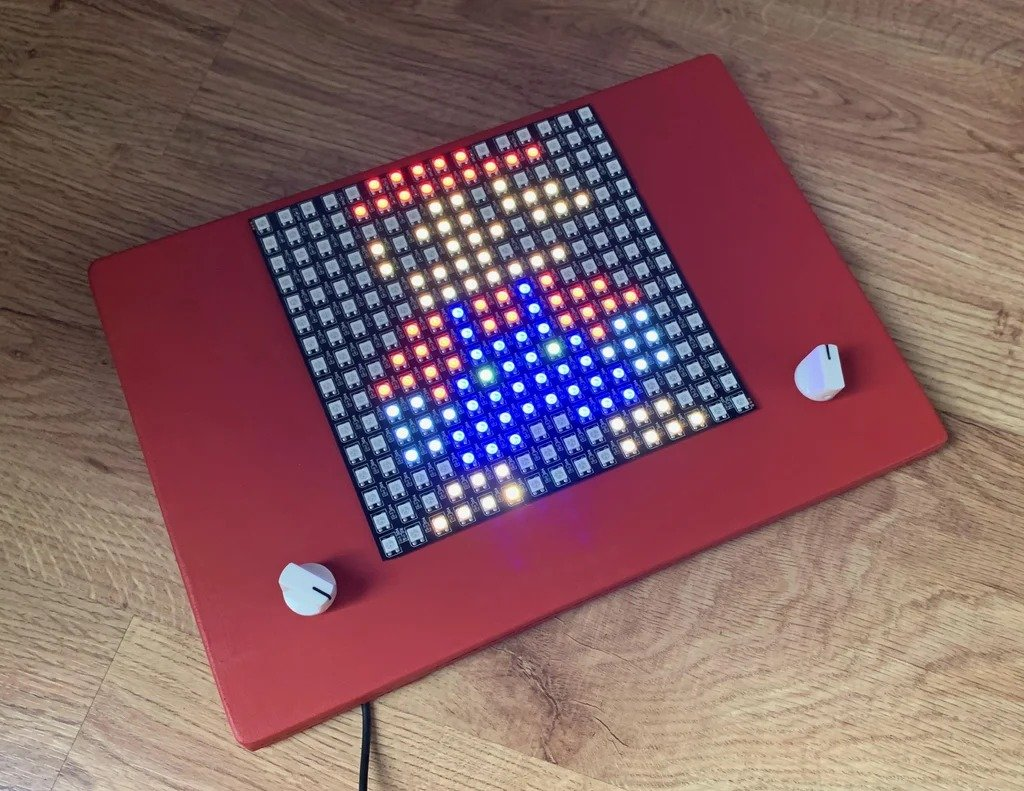 Светодиодная доска с адресными светодиодами