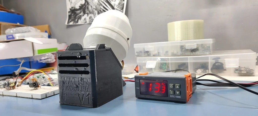 Мини-охладитель воздуха