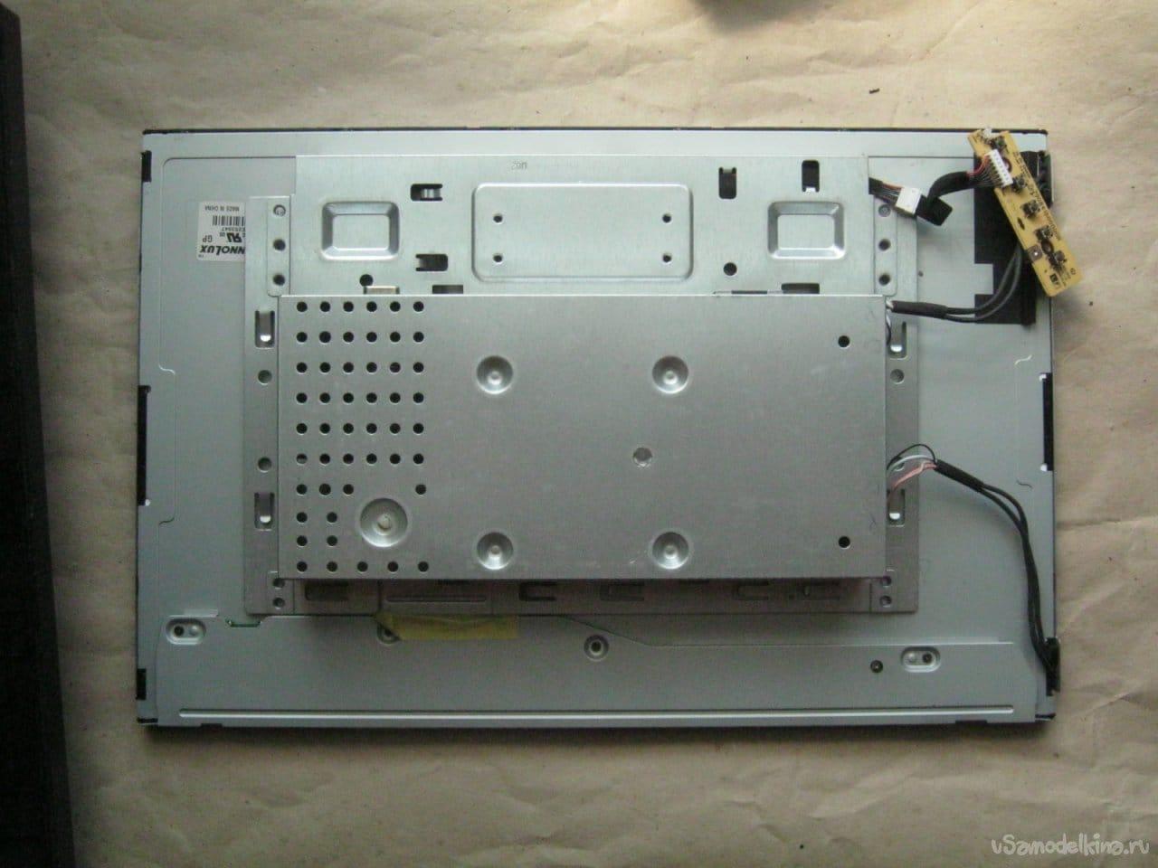 Изготовление и установка светодиодной подсветки ЖК монитора