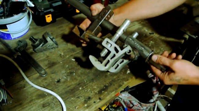 Электрический лодочный мотор из автомобильного генератора