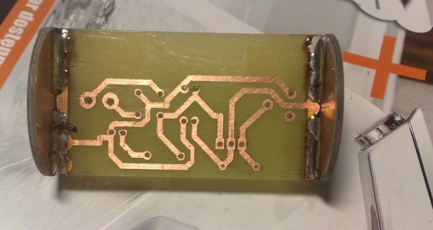 Блок питания на замену батарейки R20