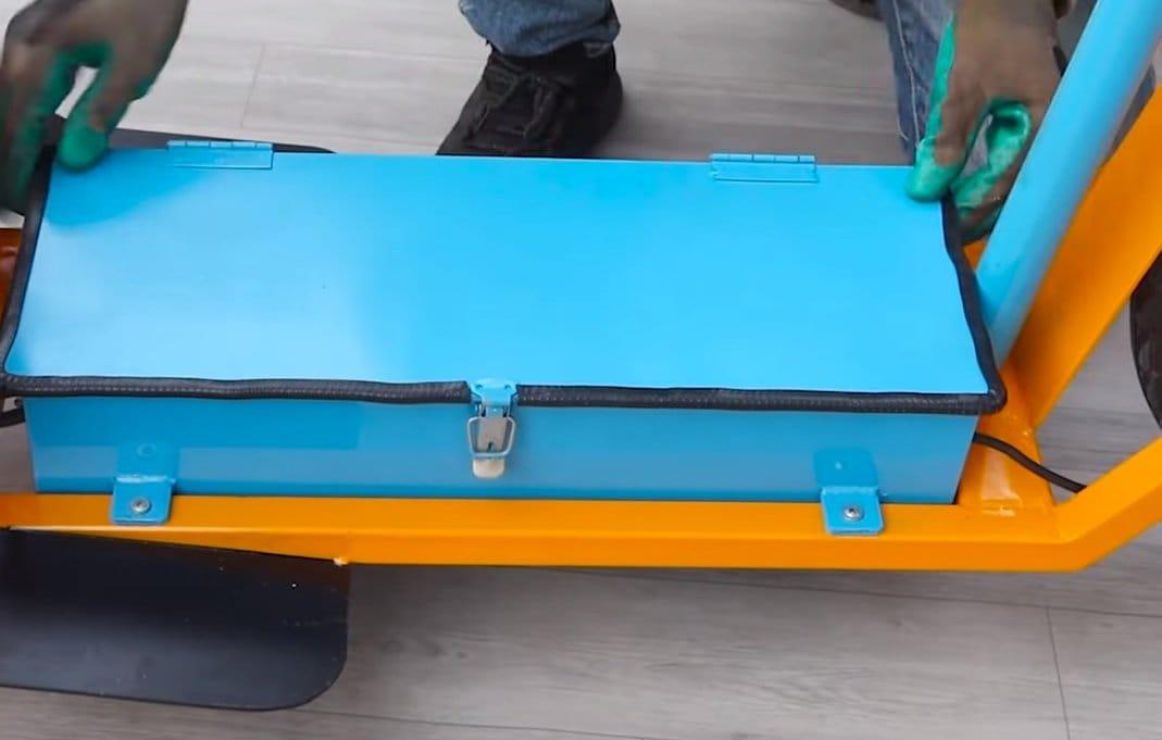 Тележка-самокат с электроприводом