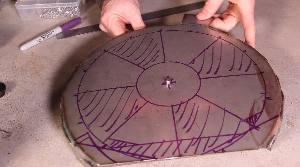 Печь для пиццы из гелиевых баллонов