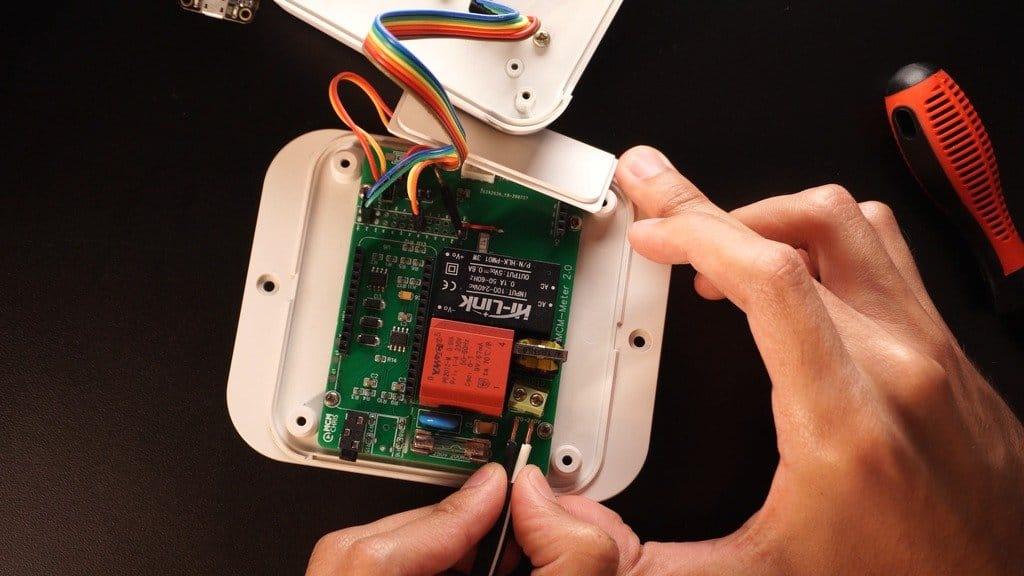 Устройство для удаленного мониторинга расхода электроэнергии
