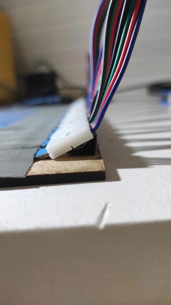 Светодиодная матрица с адресными светодиодами