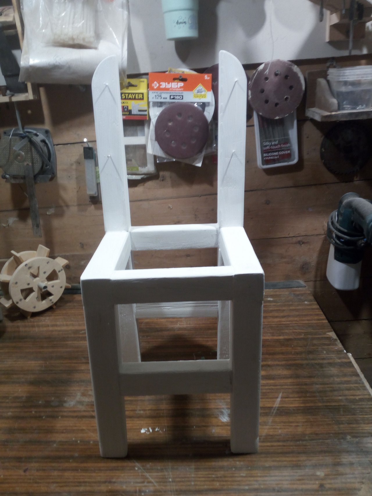Совушка. Декоративный стул для ребенка