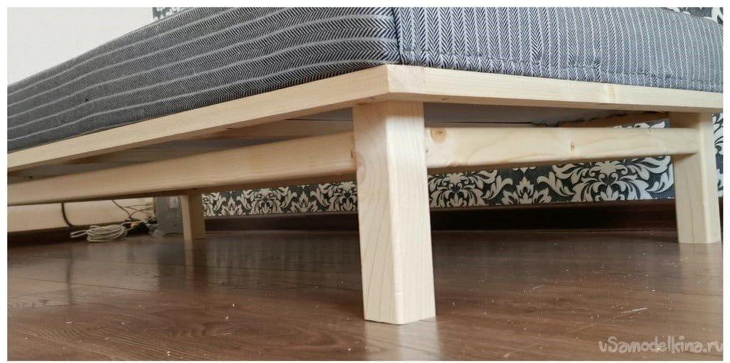 Компактный и удобный диван «Своими руками»!