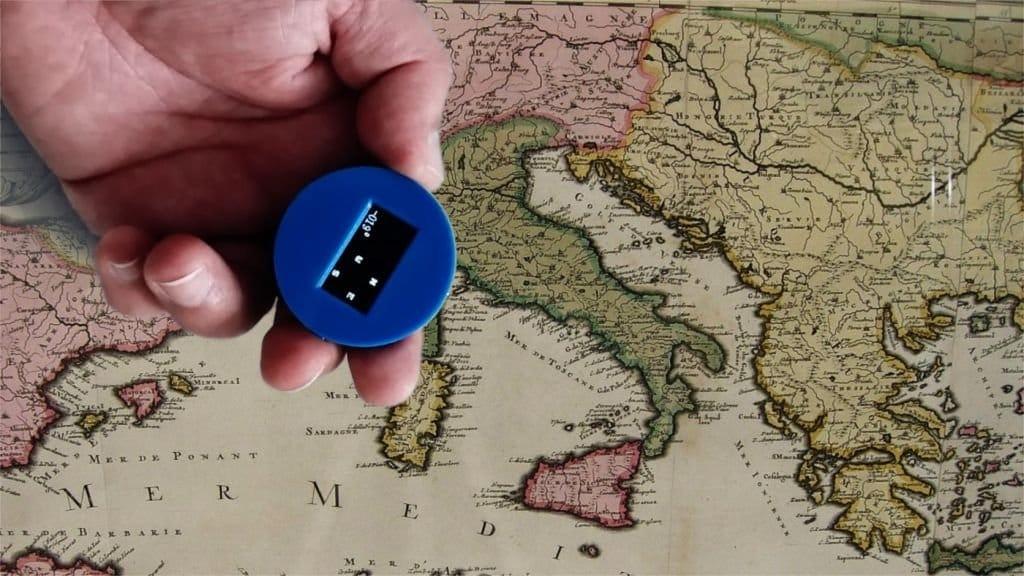 Небольшой цифровой компас