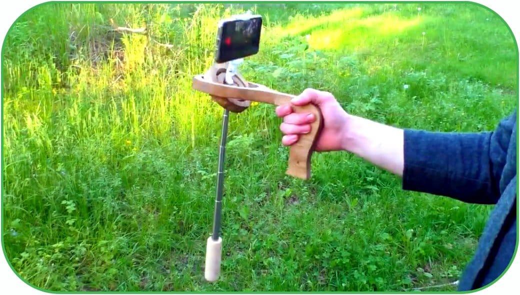 Стедикам для смартфона (стабилизатор камеры steadicam) своими руками