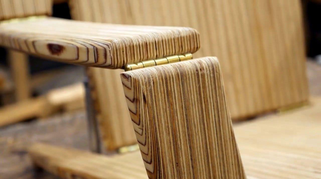 Складное пляжное кресло с газлифтами своими руками + чертеж