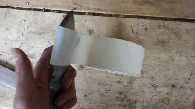 Нож, просто нож из пильного диска