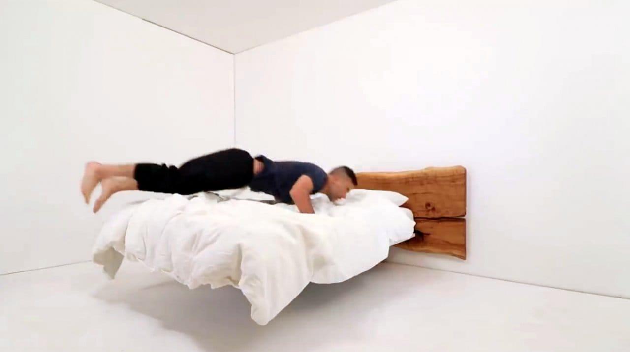 «Парящая» кровать своими руками