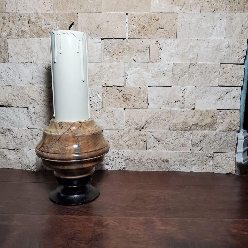 Фальшивая свеча с тайником