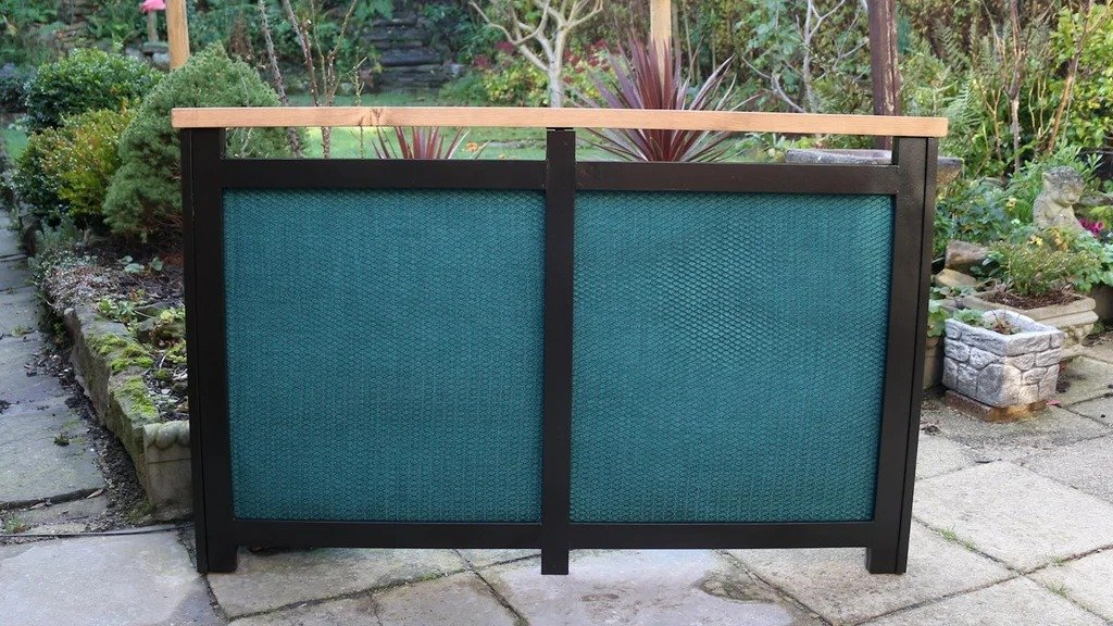 Screen for the heating battery
