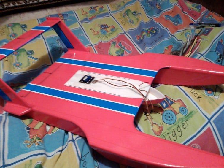 Schnyaga or flying board