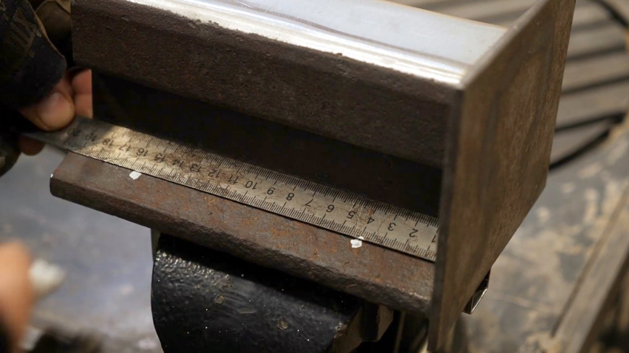 How to make an anvil from a rail