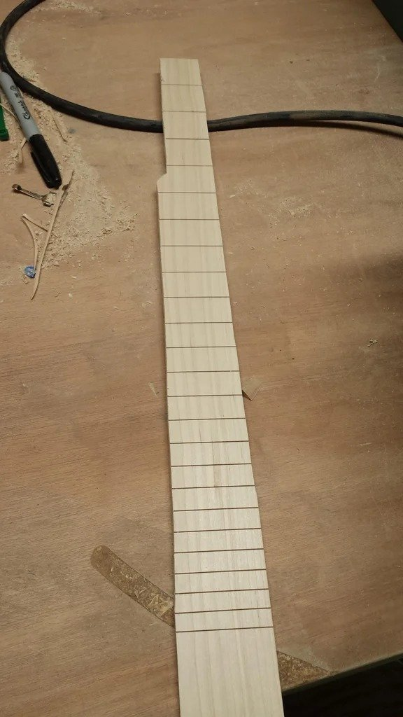 Banjo made of not quite ordinary materials