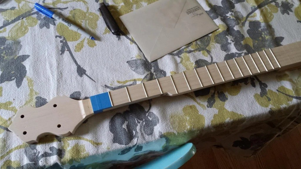 Banjo from not quite ordinary materials