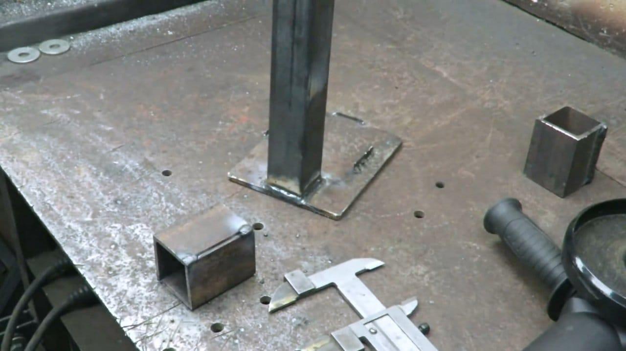 DIY press clamp