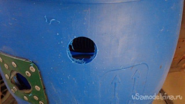 Large tank for Makita 440 vacuum cleaner, NOT CYCLONE