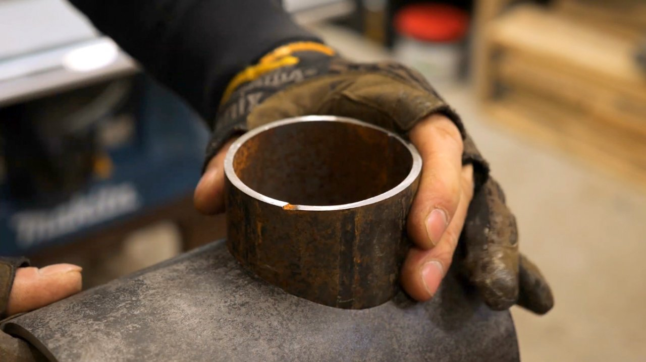 How to make a portable wood burning stove for a cast iron