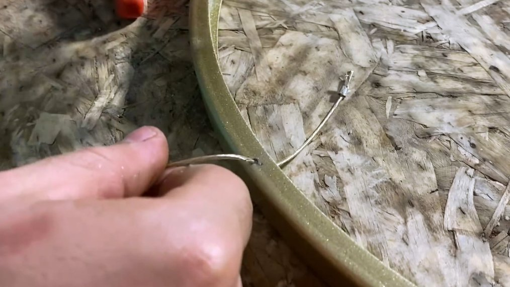 How to make an LED chandelier; Saturn's rings
