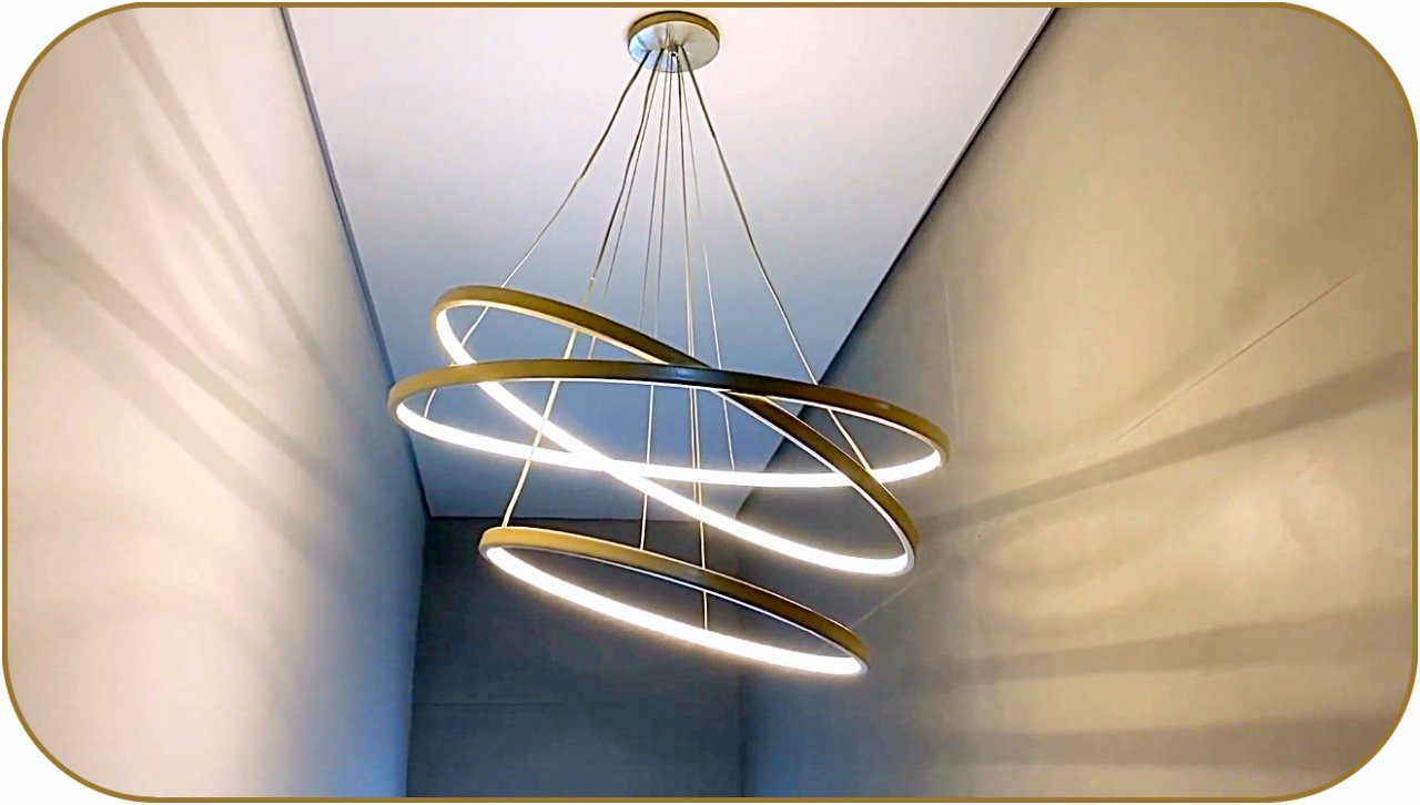 How to make an LED chandelier