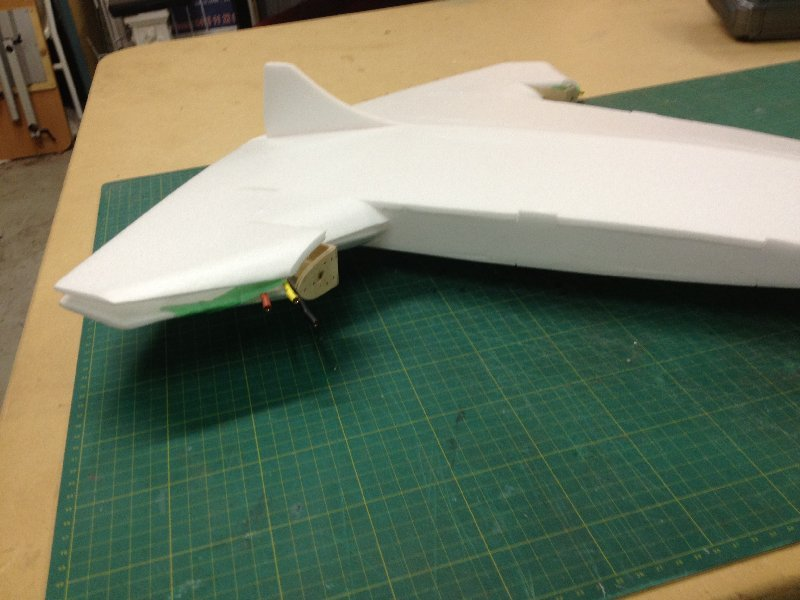 Construction of the aircraft model