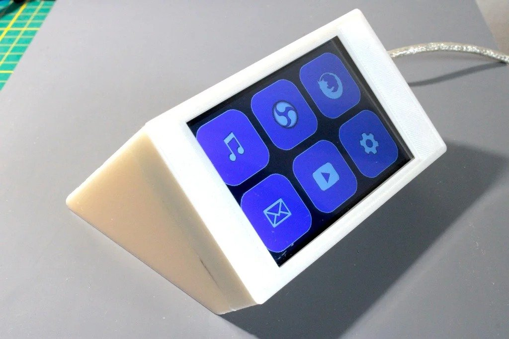 Сенсорная клавиатура для управления компьютером с помощью горячих клавиш