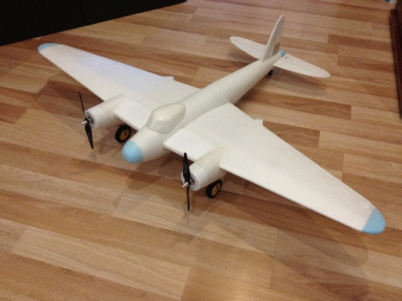 De Havilland radio-controlled model aircraft DH.98 'Mosquito'
