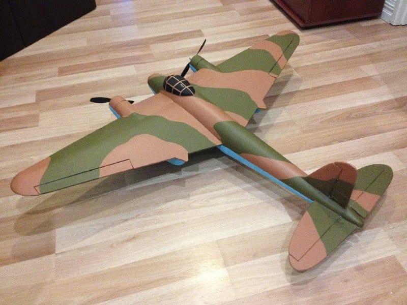 De Havilland DH.98 radio-controlled model aircraft