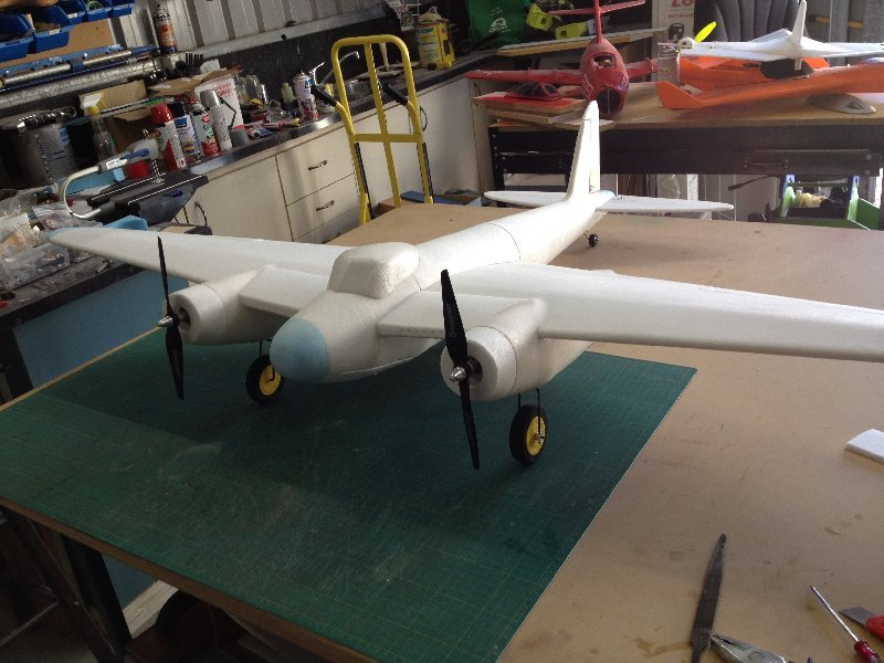 Radio-controlled model aircraft de Havilland DH.98 'Mosquito'