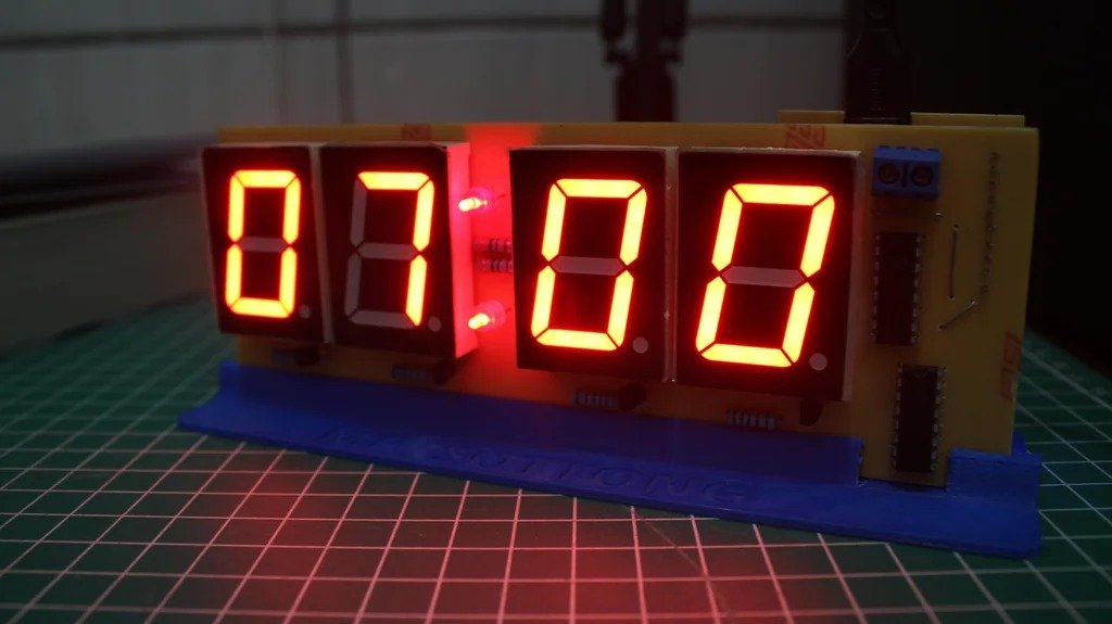 Сборка электронных часов на Wemos D1 Mini