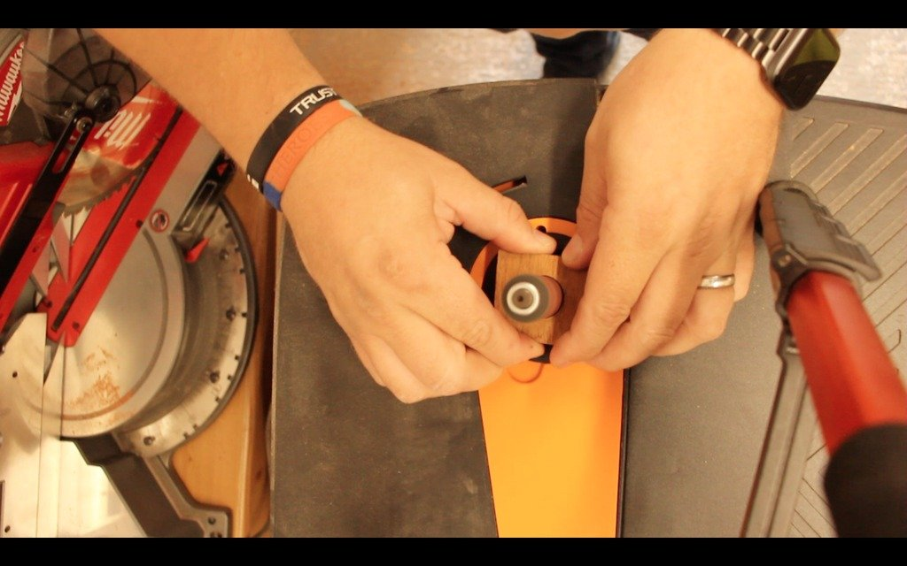 How to make a wooden ring without a lathe