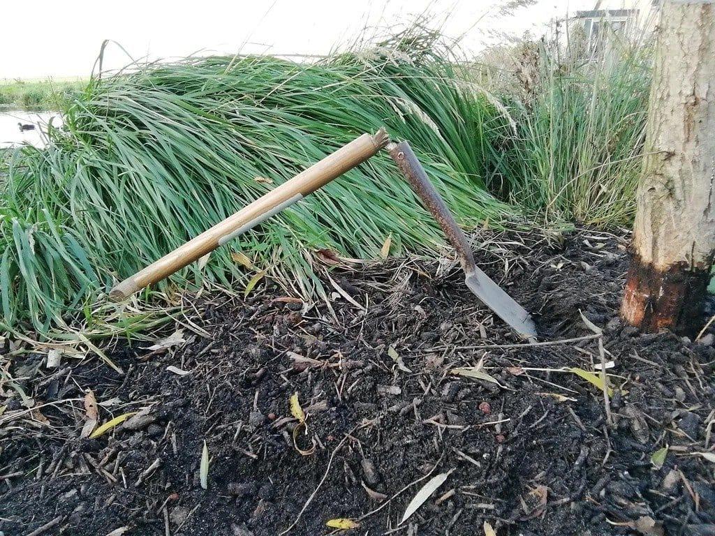 Shovel with a non-kill handle