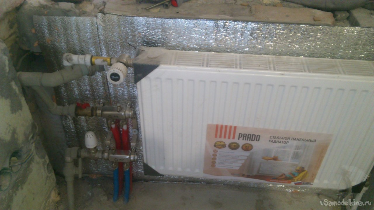 Heating system for a private house with your own hands