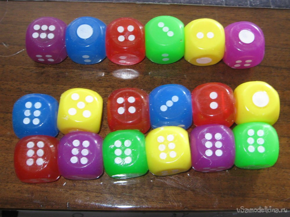 Wall clock & ndash; dice