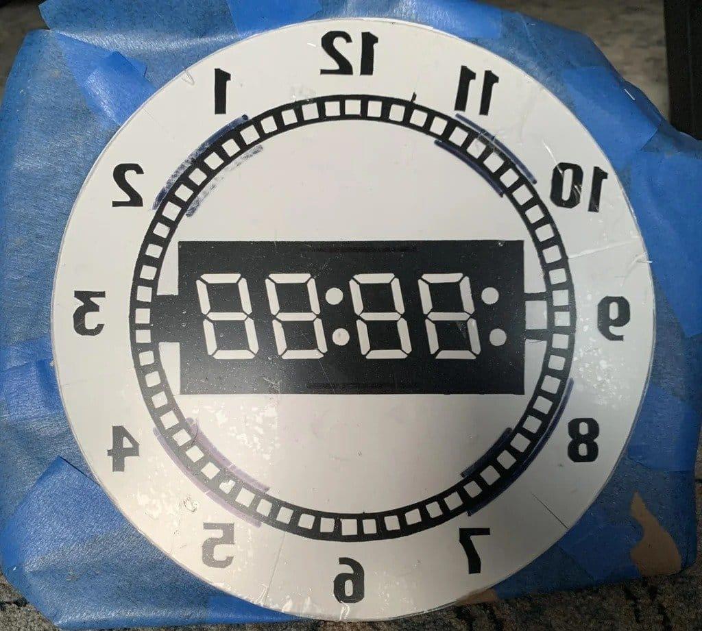 7-сегментные часы NeoPixel с таймером обратного отсчета и управлением с пульта